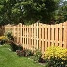 board on board good neighbor fence design