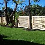 lattice good neighbor privacy fence design