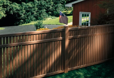 Cedar vs. Vinyl Fence - Comparison and Costs