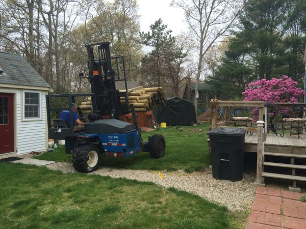 AVO Fence Delivery in New England