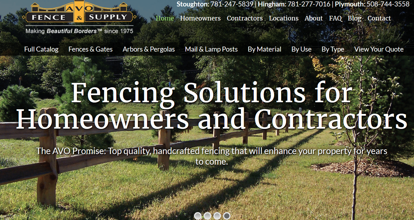 AVO's New Website & Blog Offer High-Quality Online Resources for Fence Contractors